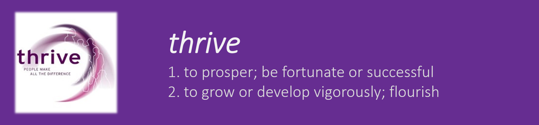 thrive definition
