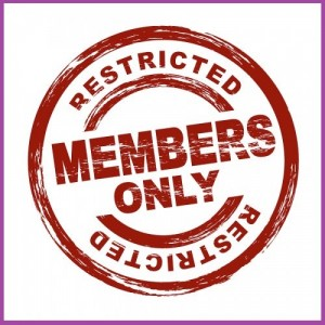 Members Only!