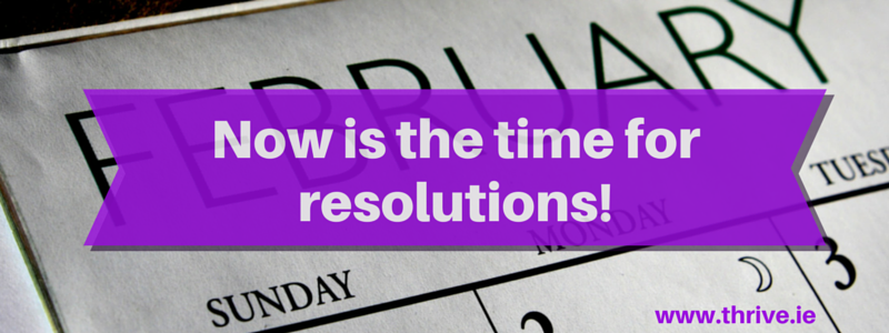 What I learned from Mark Zuckerberg about making resolutions (and why I've waited until February to make mine).