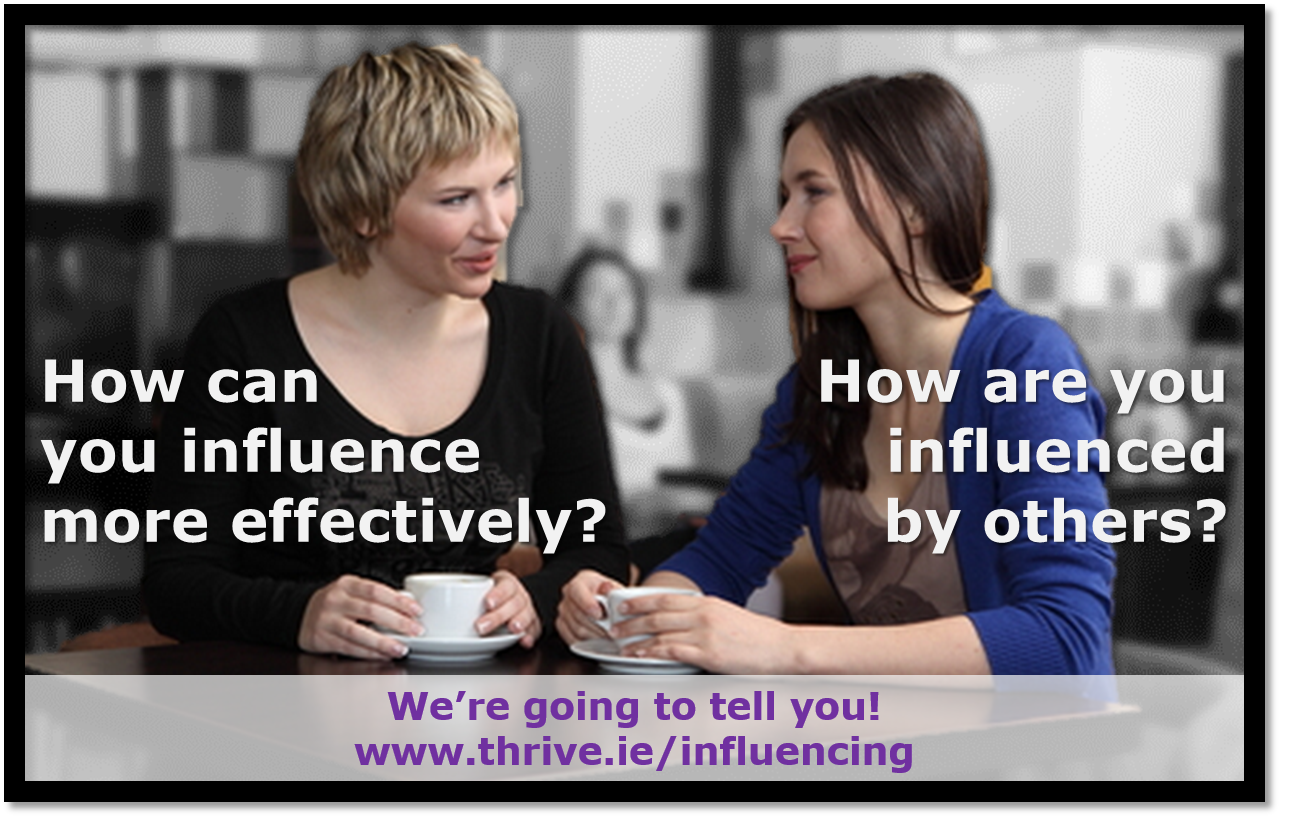 thrive Influencing Survey
