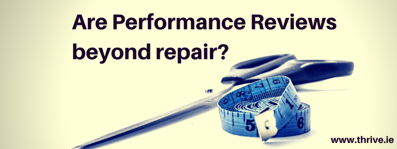 Performance Reviews: One size fits none