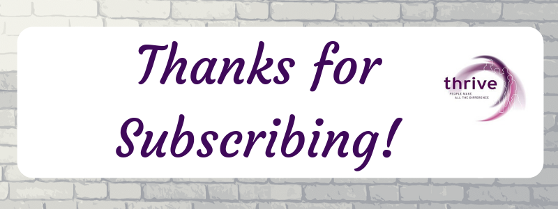Thanks for Subscribing